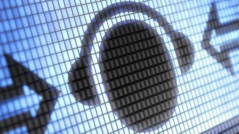 Graphic of some headphones