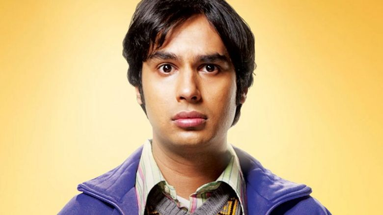 Raj from The Big Bang Theory