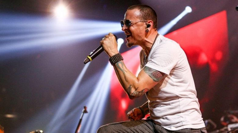 Chester performing