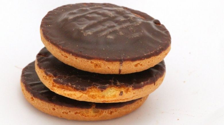 Jaffa Cakes were deemed good enough for senior officers