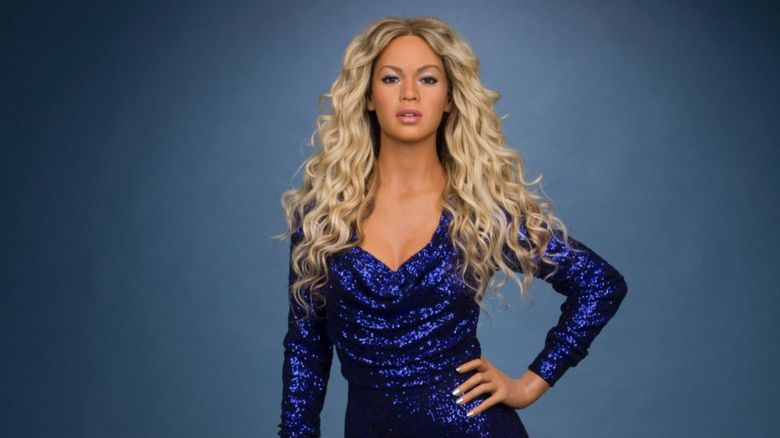 This is a photo of the latest Beyonce waxwork.