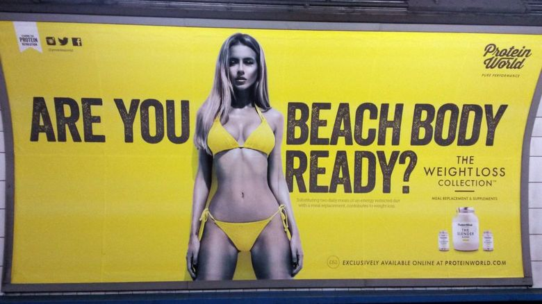 The advertising watchdog rules that Protein World