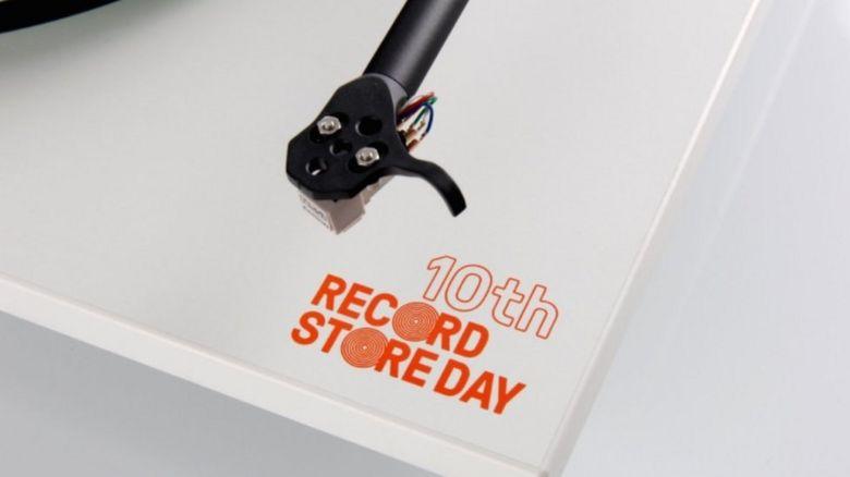 A vinyl sleeve