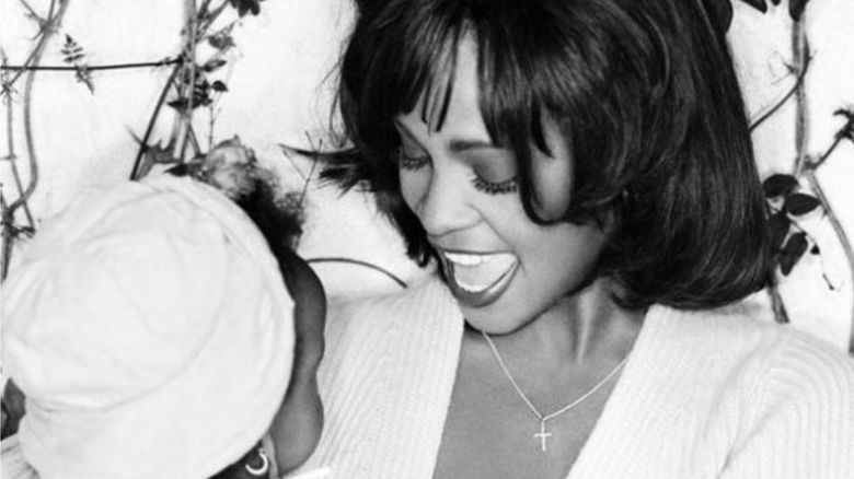 Whitney Houston and Bobbi