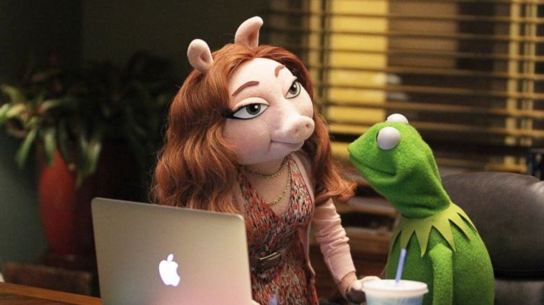 Denise and Kermit the Frog
