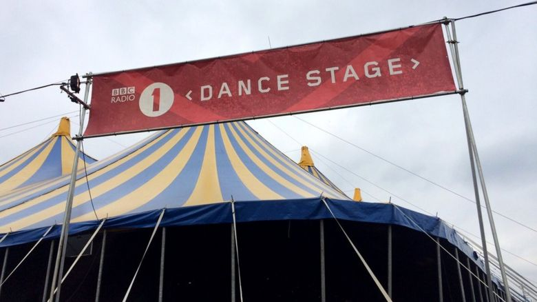BBC Radio 1 dance stage