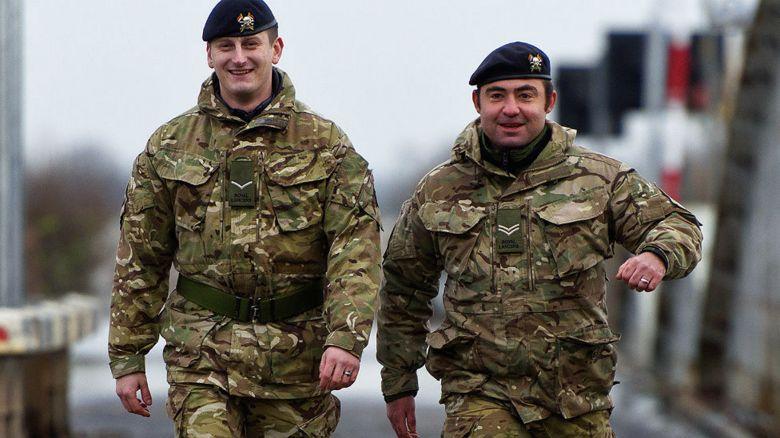 British soldiers