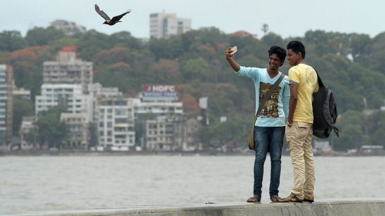 Selfies in Mumbai
