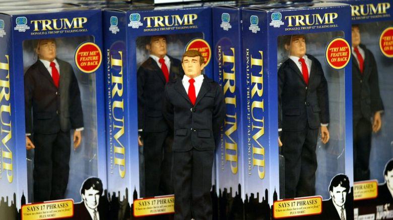 Trump dolls