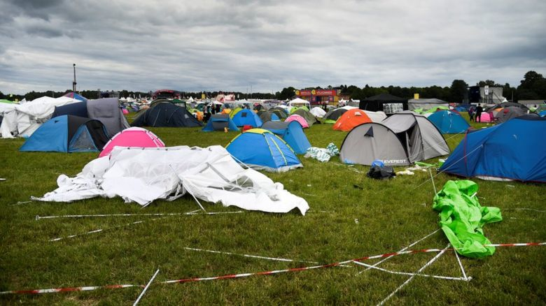 Bravalla Festival in Sweden