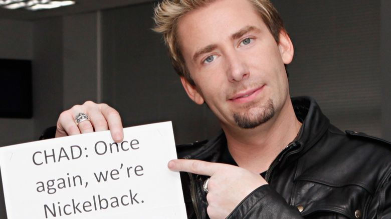 Chad Kroeger of Nickelback