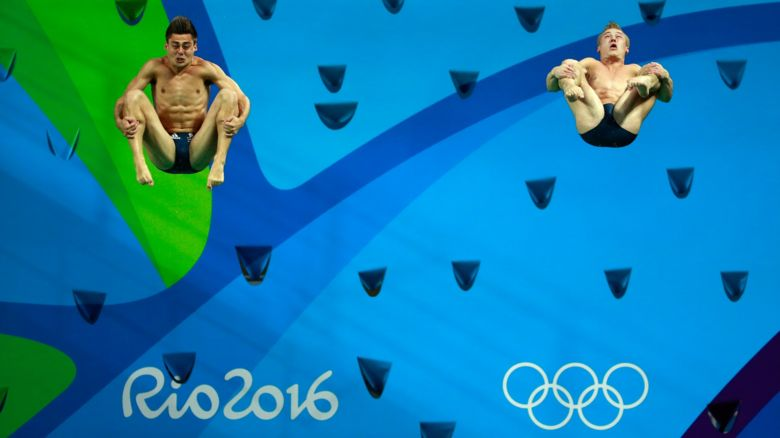 Jack Laugher and Chris Mears at Rio 2016