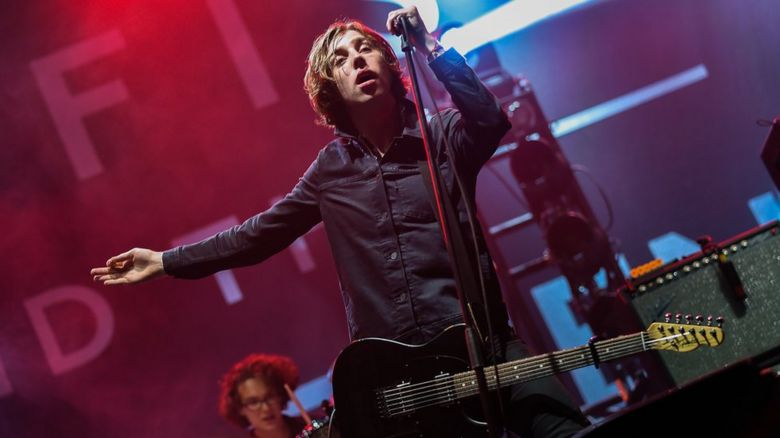 Catfish and the Bottlemen on stage in Reading