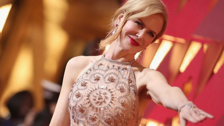 Nicole Kidman at the Academy Awards 2017