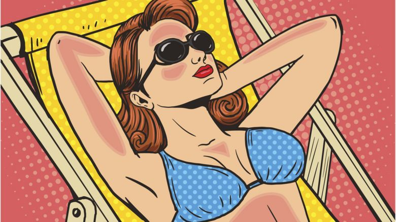 Does putting ice cream on sunburn actually help?