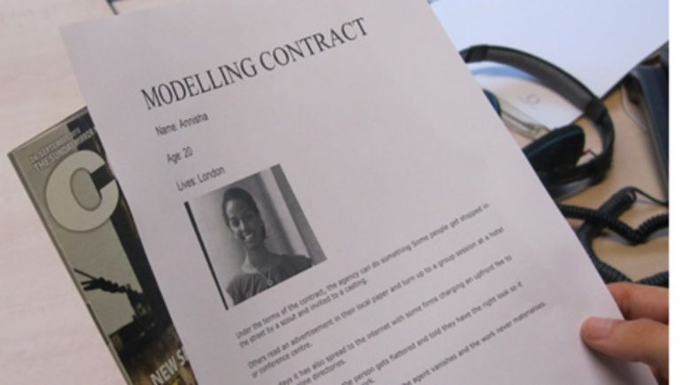 Modelling contract