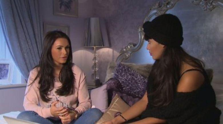 Gemma Massey and Jameela Jamil