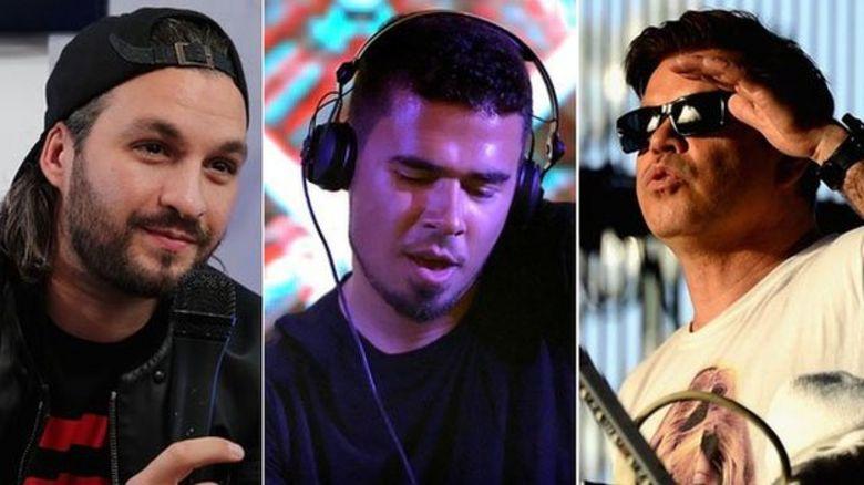 Steve Angello, Afrojack, Paul Oakenfold