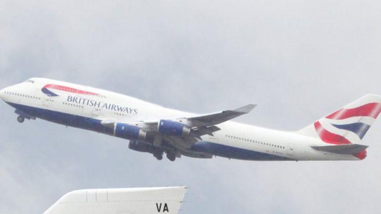 BA flight