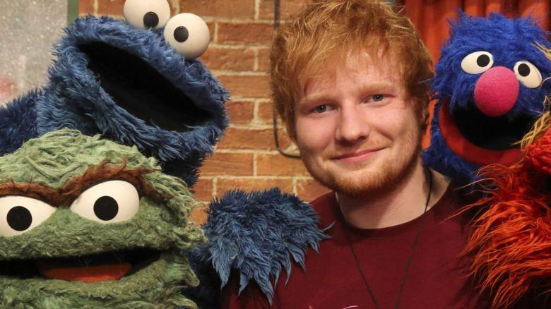 Ed Sheeran and Sesame Street