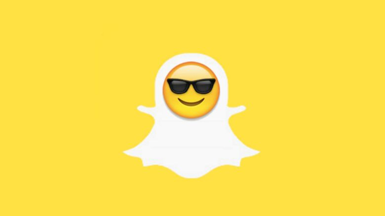 Pic of Snapchat logo with new emoji