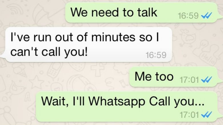 Whatsapp adds free voice calls feature