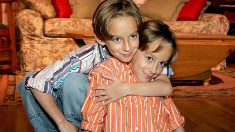 Sullivan Sweeten (right) and Sawyer Sweeten
