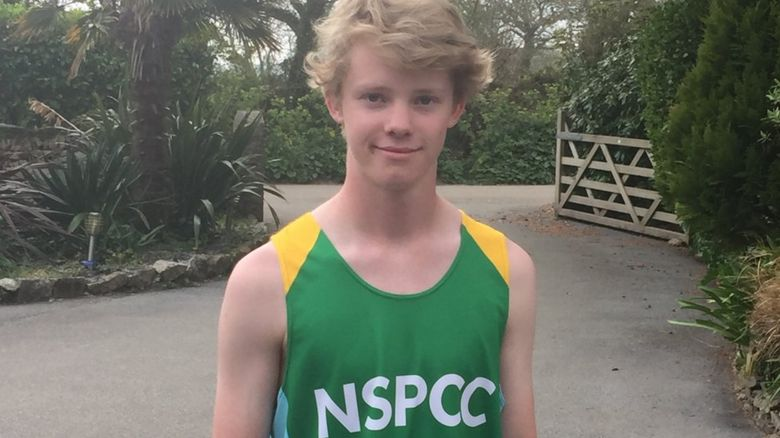 Jonny Innes will be the youngest runner at the London Marathon