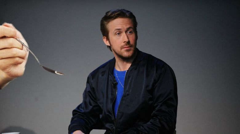 Ryan Gosling and spoon