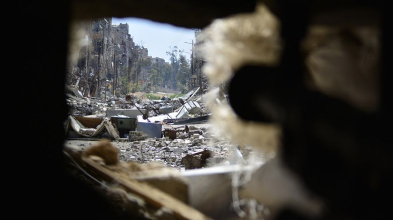 Syria rubble