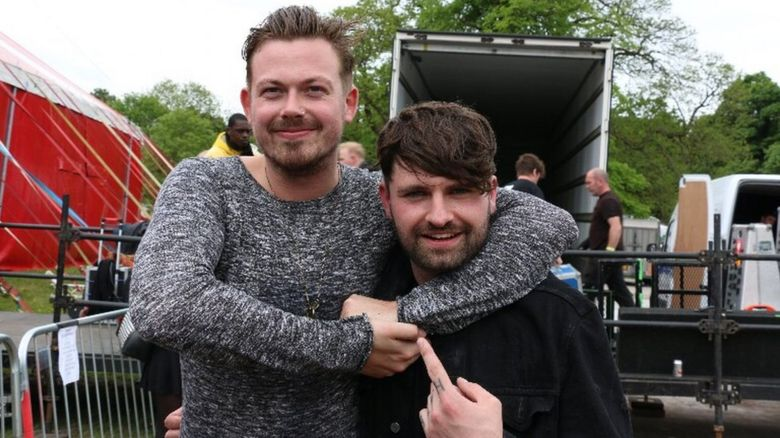 Dec Hart and Mike Duce from Lower Than Atlantis