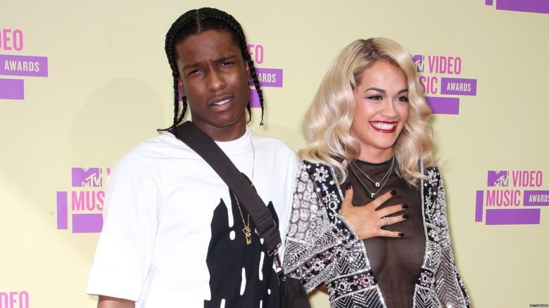 A$AP Rocky and Rita Ora