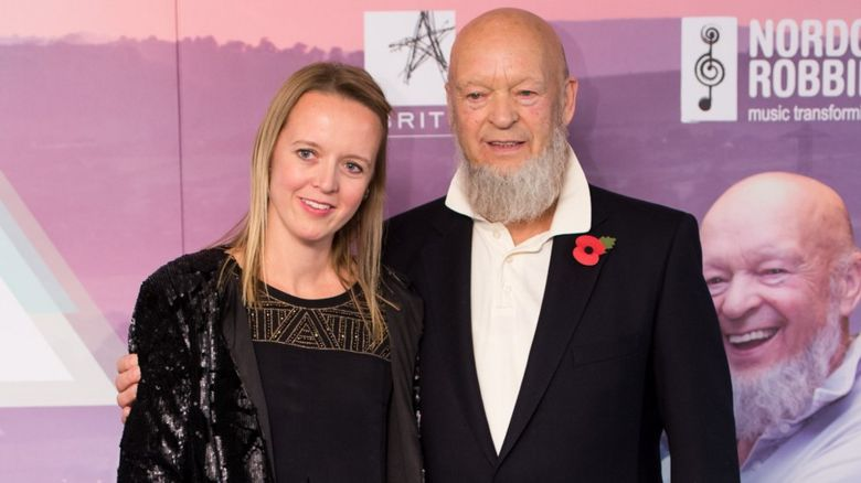 Emily and Michael Eavis
