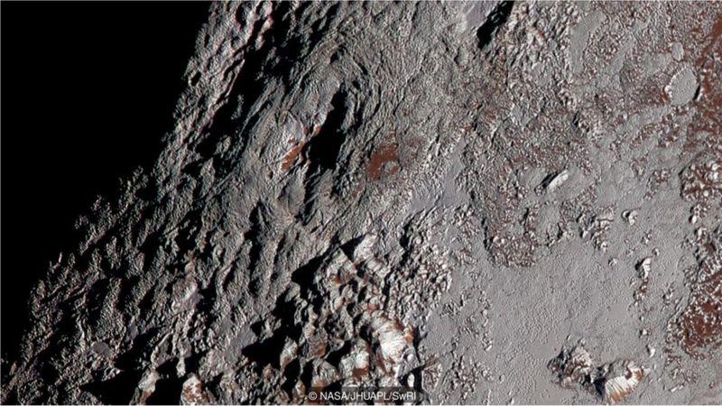 Fotos da New Horizons mostram um possível vulcão gelado na superfície de Plutão