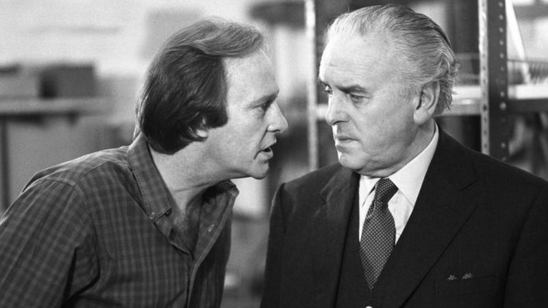 Dennis Waterman and George Cole