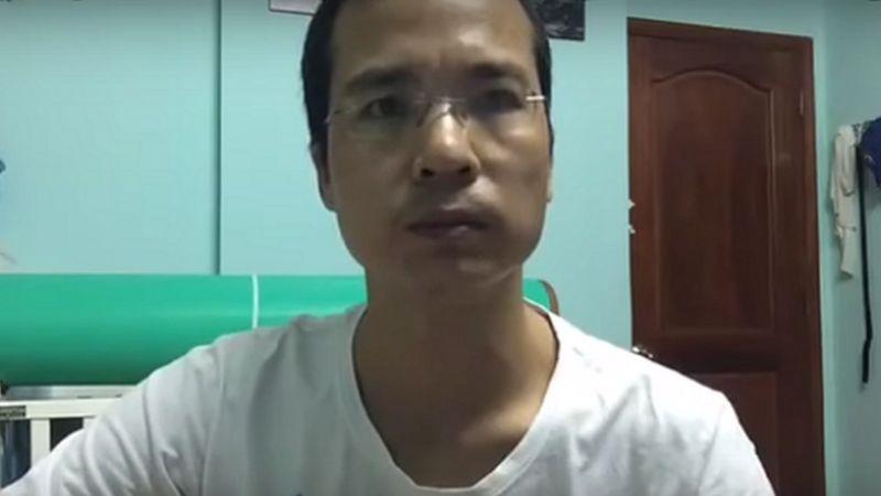 Ông Hoàng Dũng, người tự nhận là đại diện cho phong trào Con đường Việt Nam