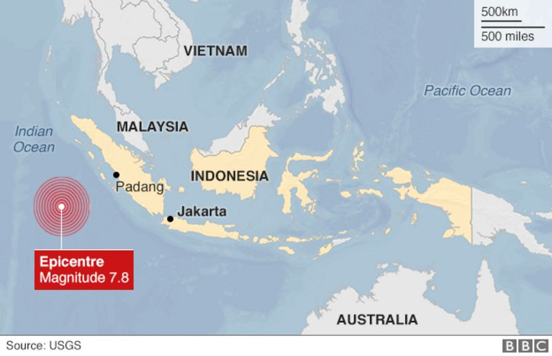 Massive Earthquake Strikes Indonesia