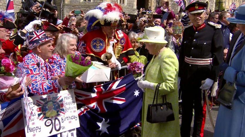 Королева приняла поздравления подданных