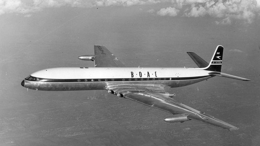 O De Havilland Comet, popular nos anos 50 e 60