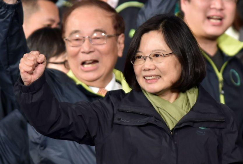 Bà Thái Anh Văn mới lên làm tổng thống năm 2016