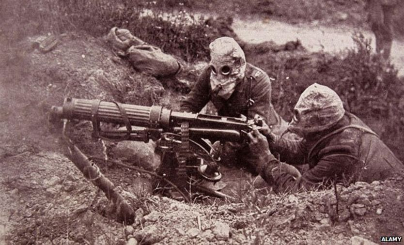 use of weapons in ww2 essay