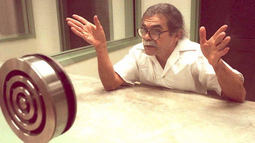 Óscar López en la cárcel.