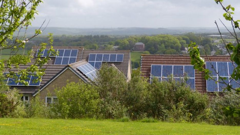 solar panels in Wadebridge