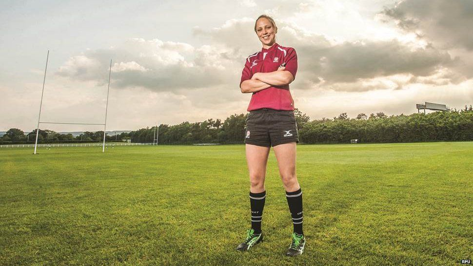 This Female Rugby Referee Is Making History This Weekend Bbc Newsbeat