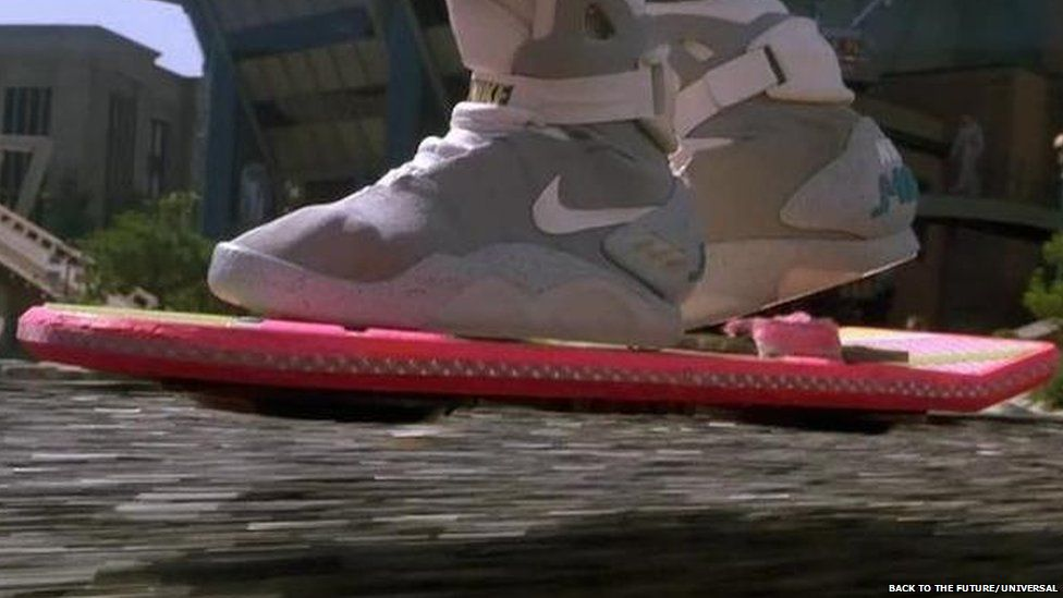Mart McFly's hoverboard