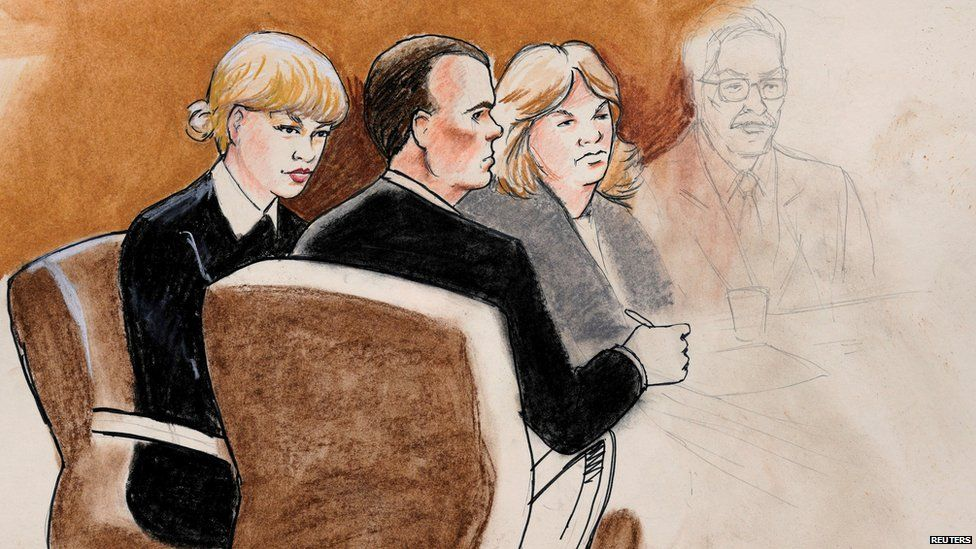 Courtroom artist responds to fan criticism of Taylor Swift sketches