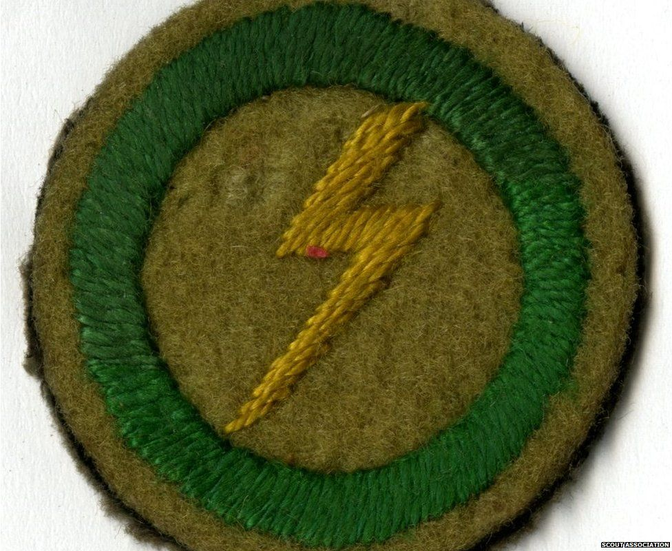 Electrician badge