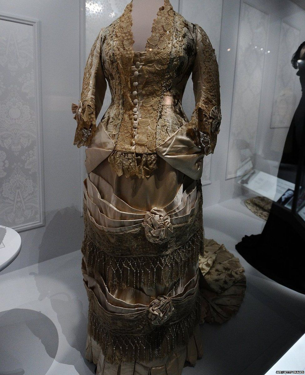 A dress owned by Maime Eisenhower
