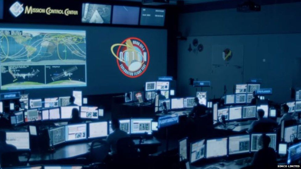 Mission control offices