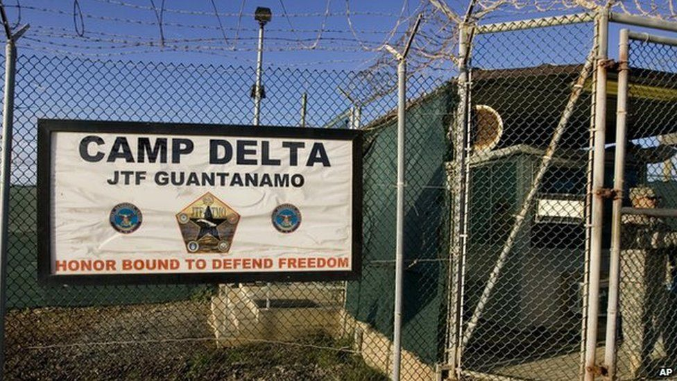 Guantanamo Bay sign